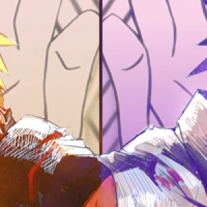 Naruto and Sasuke signature